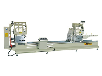 CNS Double head Precision Mitre Saw for Aluminum profiles