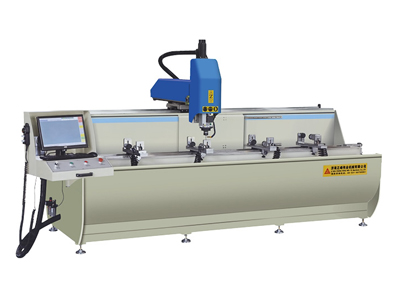 Three-axis CNC machining center for aluminum profile