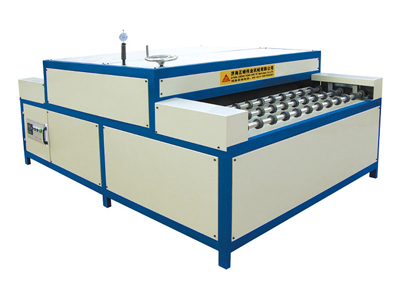 Heated roller pressing machine