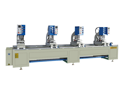 Four-position single-sided seamless welding machine