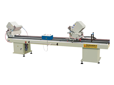 Double-head Cutting Saw for Aluminum and PVC Profiles